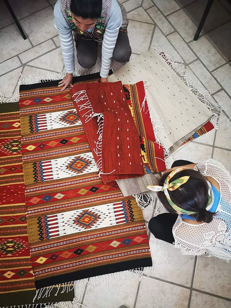 Mexico Road Trip Guide - Shopping For Handmade Rugs In Oaxaca