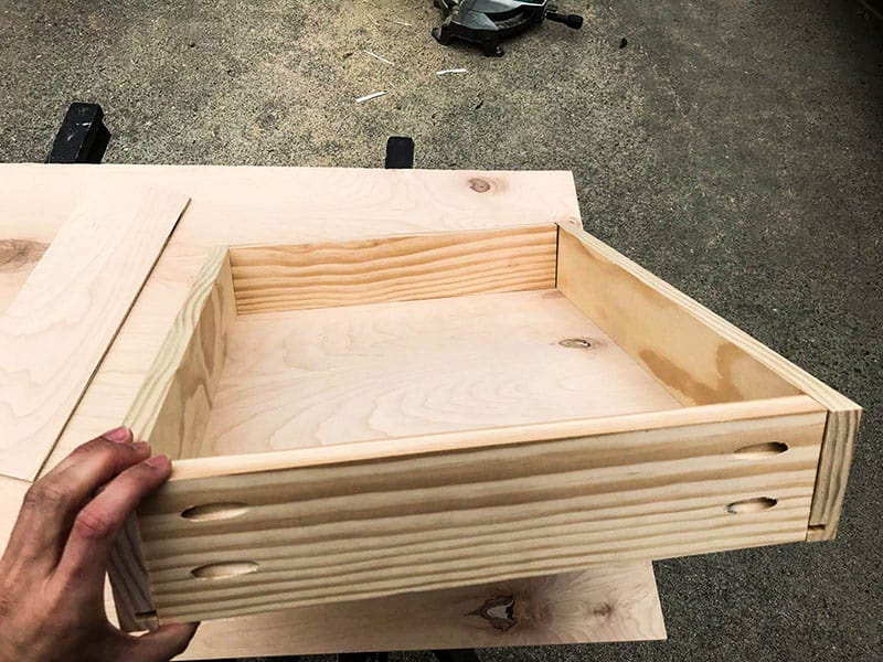 Drawers For Our Campervan Kitchen Counters