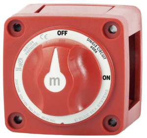 Master On/Off Switch For Camper Electrical System