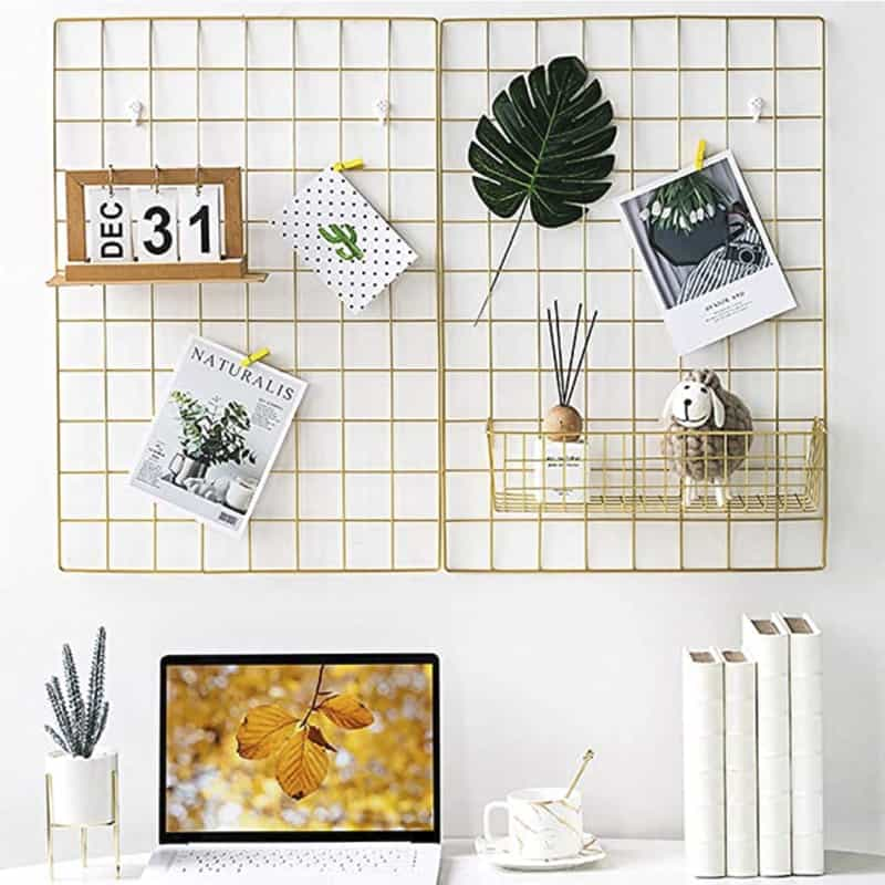 7 Items For A Photogenic Campervan - Wire Grid Board