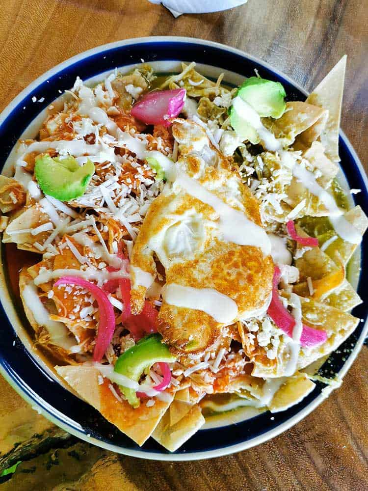 Best Mexican Food - Chilaquiles 2
