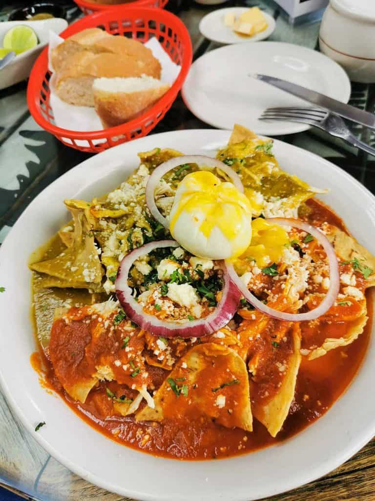 Best Mexico Food - Chilaquiles 1