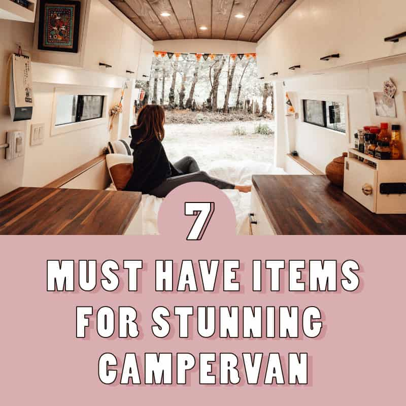 Must Have Items For A Photogenic Campervan