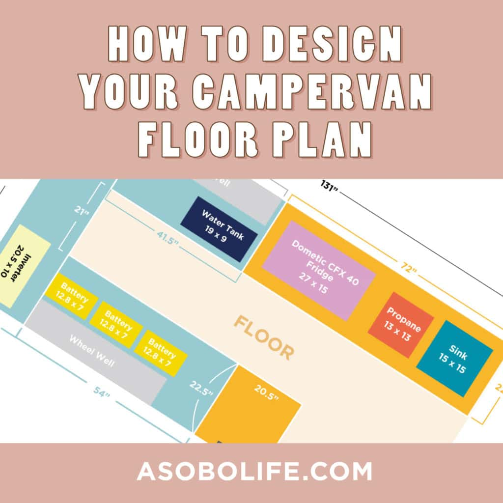 Conversion Van Floor Plan Guide-Create Your Own Layout