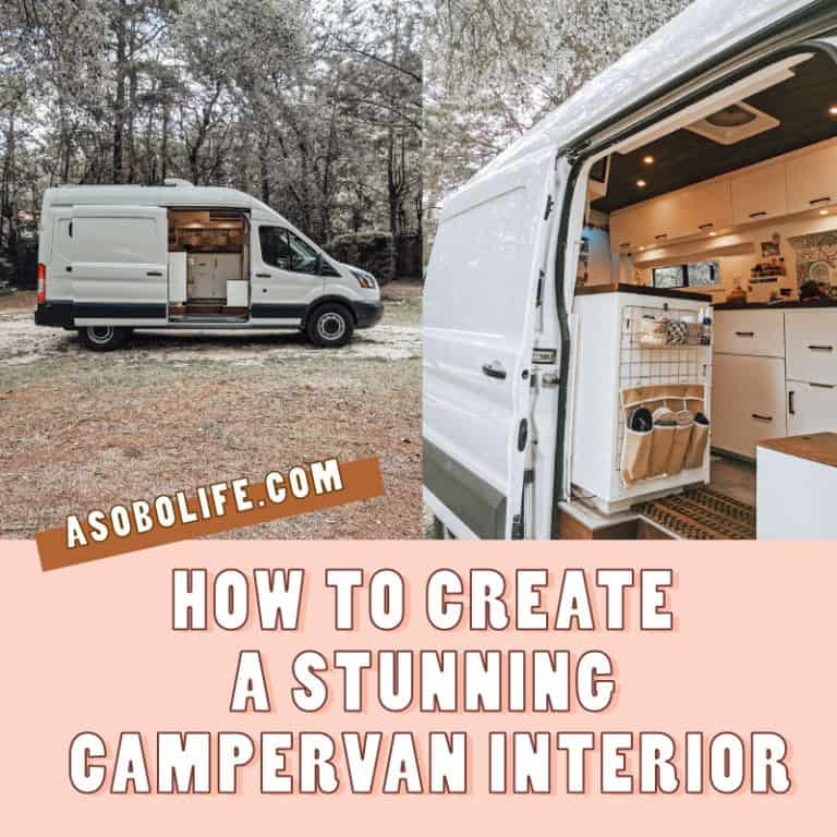 How To Create A Stunning Camper Van Interior