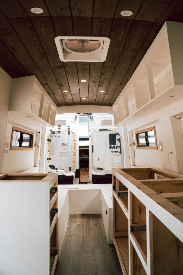 Camper Van Conversion Mistakes - Search For Better Plywood