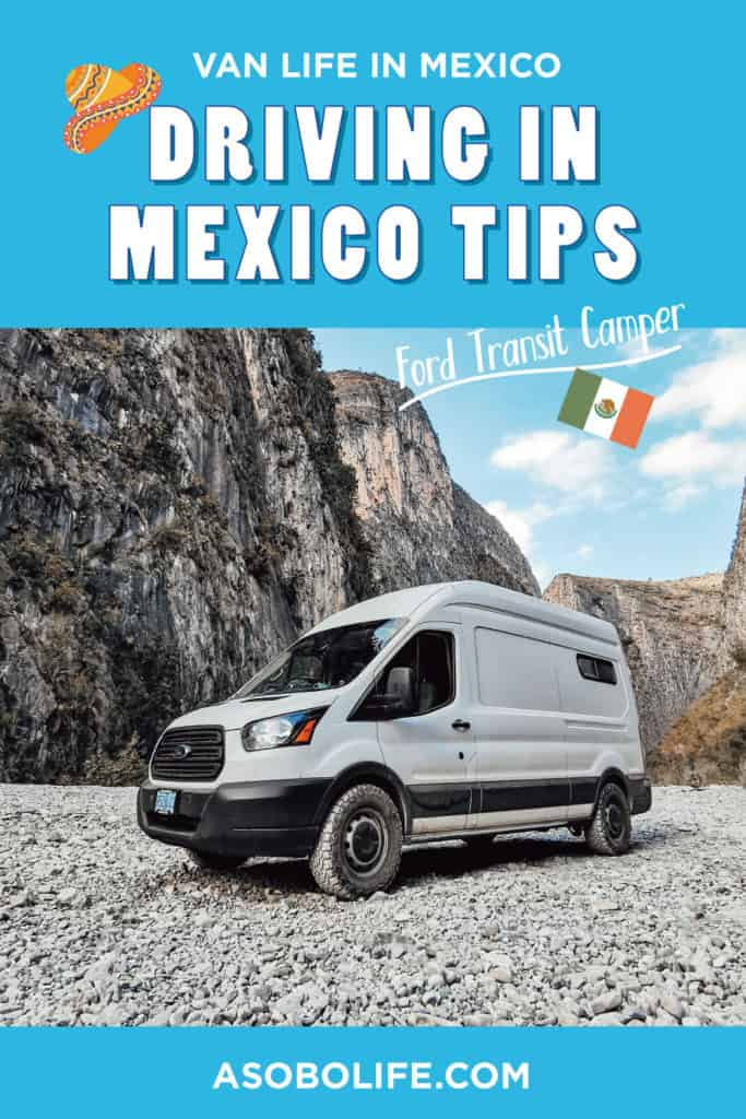 Driving In Mexico Tips - Pin