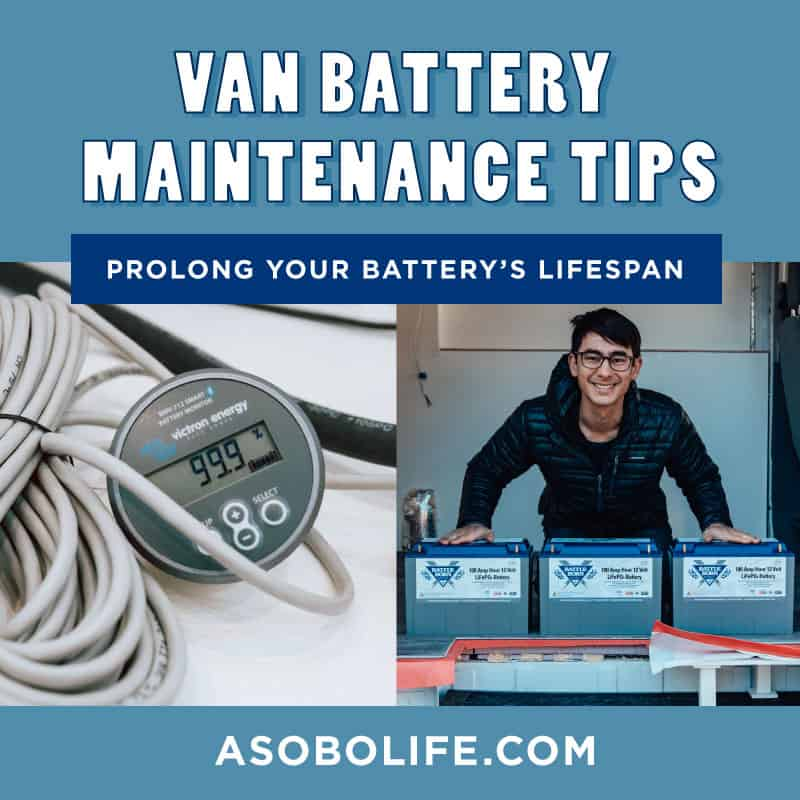How to Maintain Your Van Battery's Life