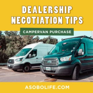 How To Negotiate Your Van's Purchase At A Dealership