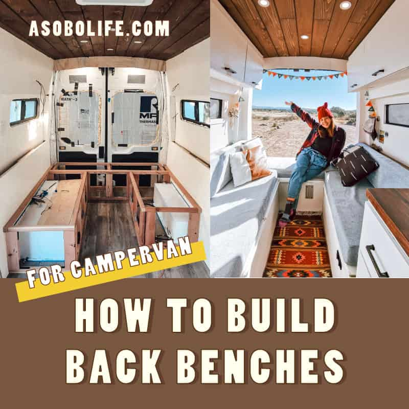 How To Build A Convertible Bed & Back Benches