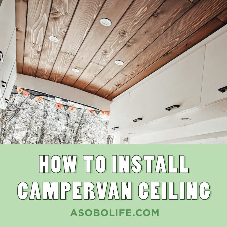 How-To-Install-Ceiling-For-Campervan