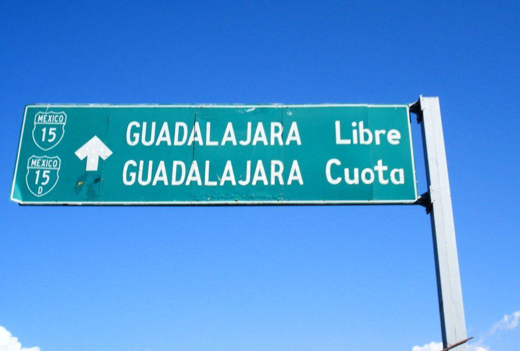Mexico_Driving_Sign