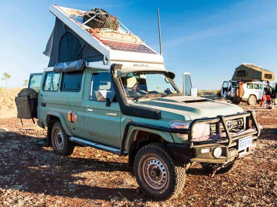 The Most Popular Camper Vehicle - 4WD SUV