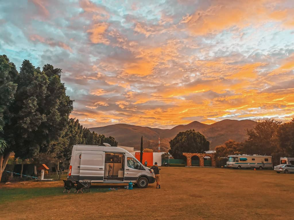 Mexico Road Trip Guide - Overnight Camping In Mexico - RV Park