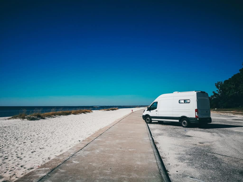 Overnight Camping In Mexico - Beachside