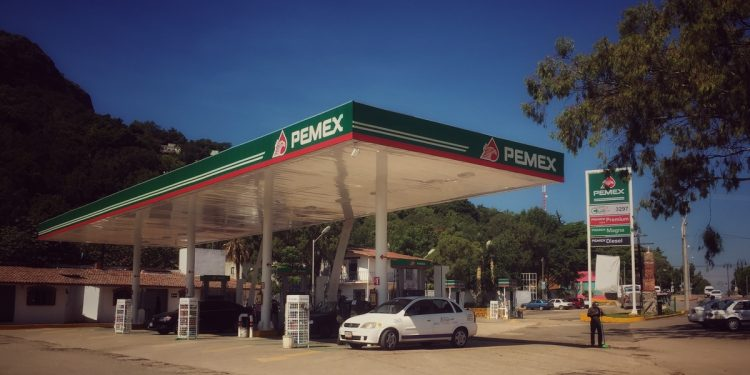 Pemex Gas Station Mexico - Where To Camp In Mexico