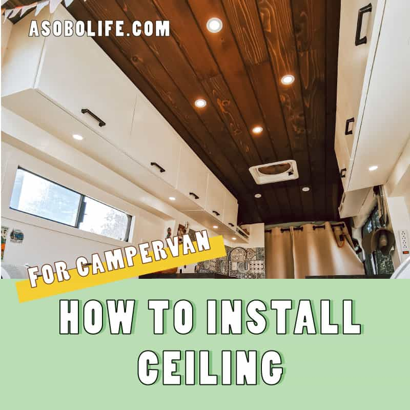 How To Install A Cedar Plank Campervan Ceiling - Banner LInk