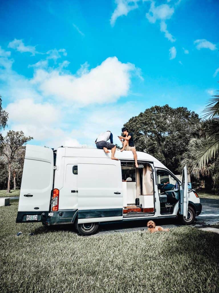 How-To-Install-Solar-Panels-On-A-Camper-Van-Roof