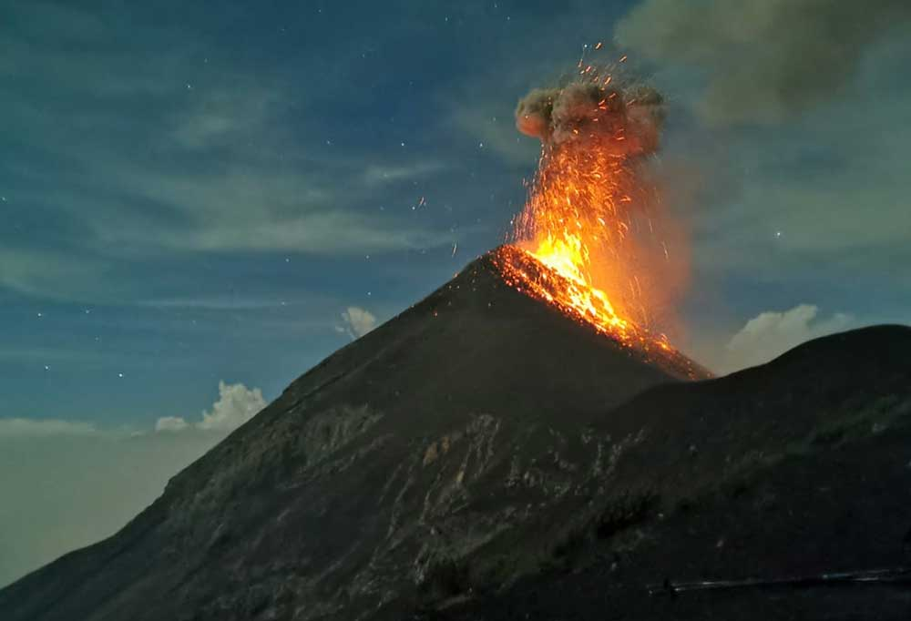 Fuego Volcano Erupting - Best Things To Do In Antigua Guatemala