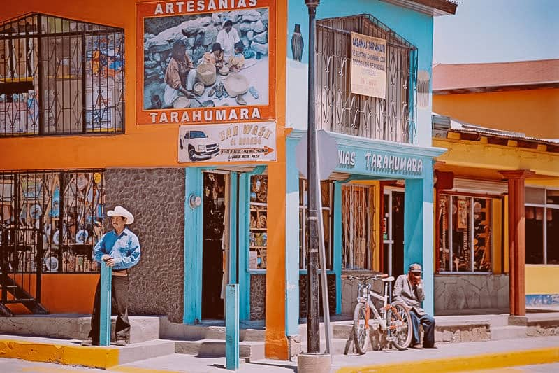 Creel Town In Chihuahua State, Mexico