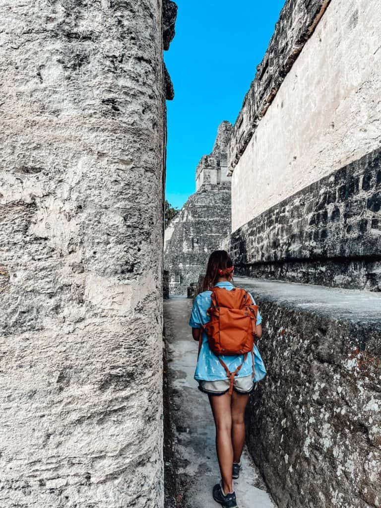 Exploring The Tikal Ruins In Guatemala Without A Guide