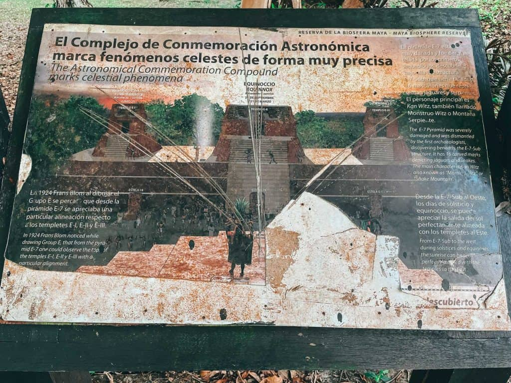 Visiting The Uaxactún Ruins - Astrological Sign Board