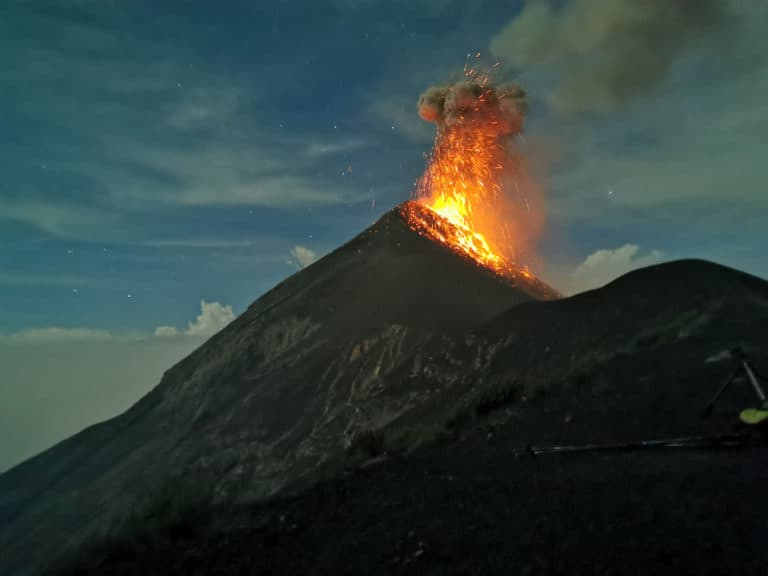 Volcan Fuego Eruption - Hiking Acatenango Volcano - Everything You Need To Know