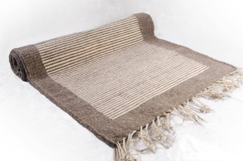 Mexican rug from Oaxaca - Zapotec style handwoven wool rug