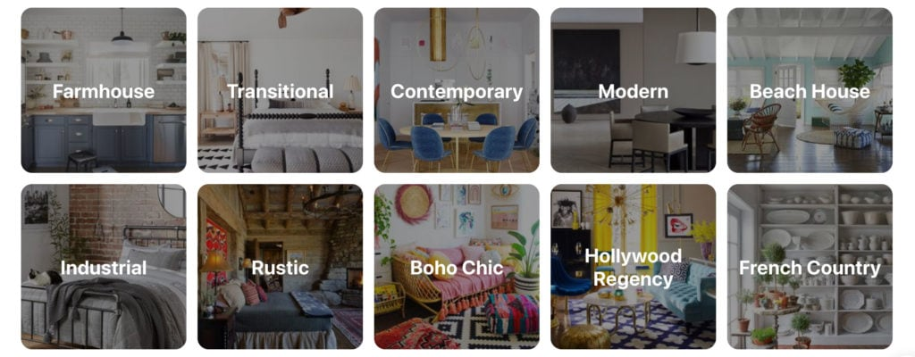 Pinterest Searching With Interior Design Keywords