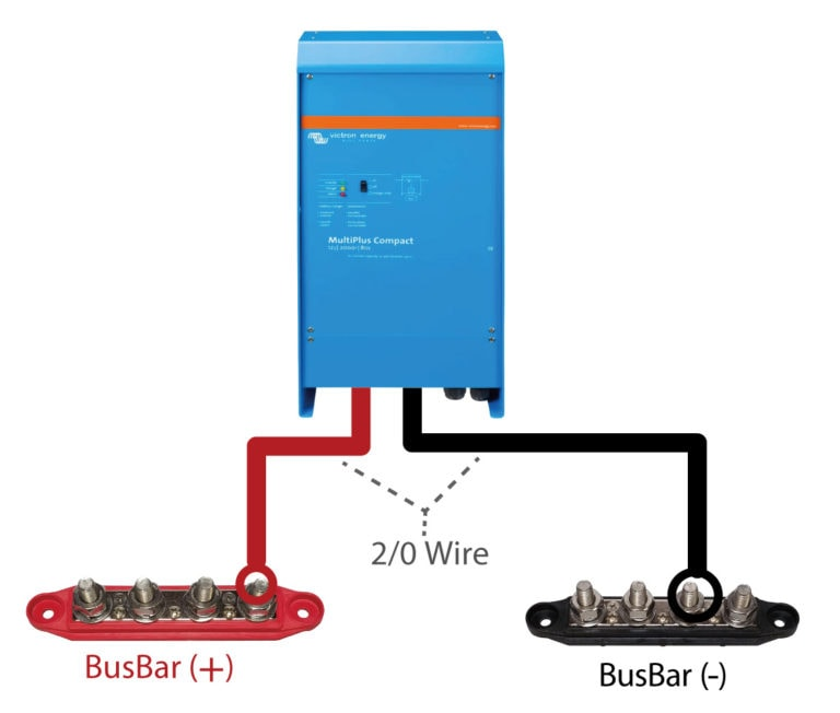 Connecting Inverter To Batteries (Bus Bars)